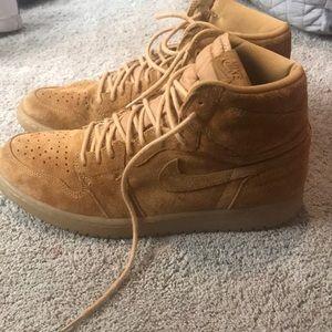 Like new suede Jordans!